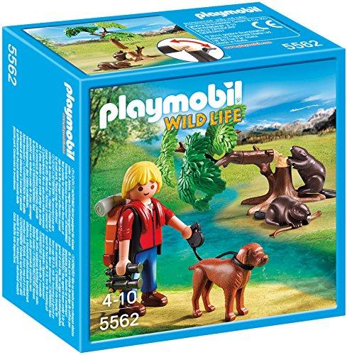 PLAYMOBIL 5562 - Biberbaum mit Naturforscher