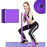 MENGZF12 Banda Elástica Fitness,Largo Yoga Cintas Elásticas Látex Natural para Fitness, Estiramiento, flexibilidad, pilate, B