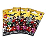 The Lego Batman Movie 3er Set 71017 Minifigures