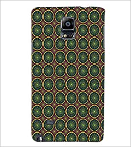 SAMSUNG GALAXY NOTE 4 CIRCLE PATTERN Designer Back Cover Case By PRINTSWAG