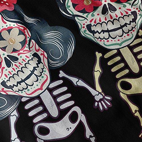 Mignonne Skeletons Intemporel Amour Femme NOUVEAU Noir S-2XL Débardeur | Wellcoda Noir