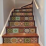 Azulejos 3D Creativos Árabe Escaleras Pegatina Decoración