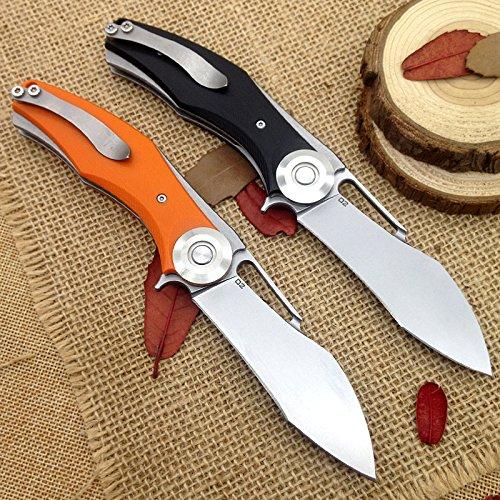 ad alte prestazioni di coltello pieghevole lama D2Cuscinetto lavatrice G10manico Outdoor Campeggio Caccia Coltello da tasca edc di strumenti con confezione regalo di lusso