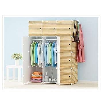 ... Verstärktes Doppelte Tuch, Mehrzweck Student Kleidung  Aufbewahrungsschrank, Mini Economy Kleiderschrank ( Farbe : 2# ):  Amazon.de: Küche U0026 Haushalt