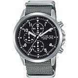 Pulsar, Orologio cronografo da uomo in stile militare PM3129X1