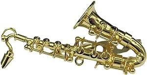 Miniblings Sassofono Sassofono Spilla Saxophone Pin + Box verg. Sassofono