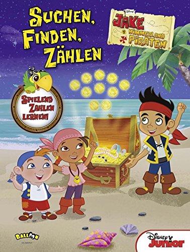 Peter Pan Piraten (Jake und die Nimmerland Piraten - Suchen, Finden, Zählen)