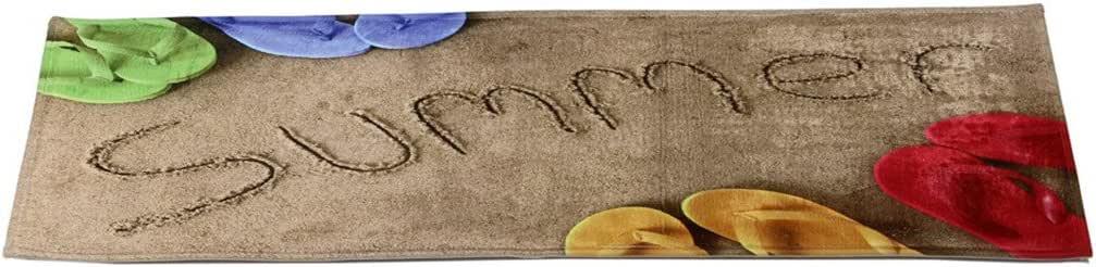 40cm x 120cm Sukisuki Paillasson Beach Lavande Piano Motif antid/érapant Long Tapis de Sol de Salle de Bain WC Tapis de Cuisine 40/cm x 120/cm 2 Polyester