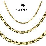 Max Palmer®   Catena a serpente   Acciaio inossidabile   84 varianti