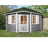 weka Gartenhaus 149 5-Eck Gr.2, 28 mm