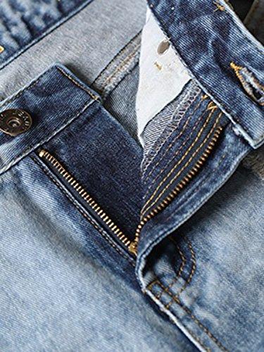 ... Choies Damen Jeans Hosen Denim Baggyjeans Boyfriend Cut-Outs Jeanshose  mit Löcher und Zerreißen Jeans ce01776027