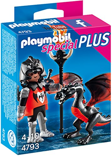 Playmobil Knight with Especial Caballero con dragón, Color (4793)