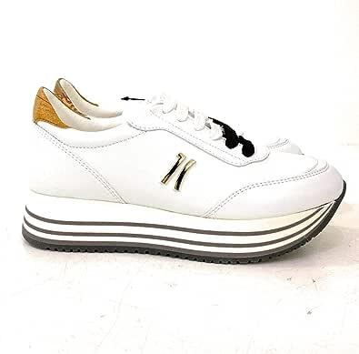 ALVIERO MARTINI Sneakers Alte 1C in Ecopelle Colore Bianco - ZP181201C0900 (Numeric_35)