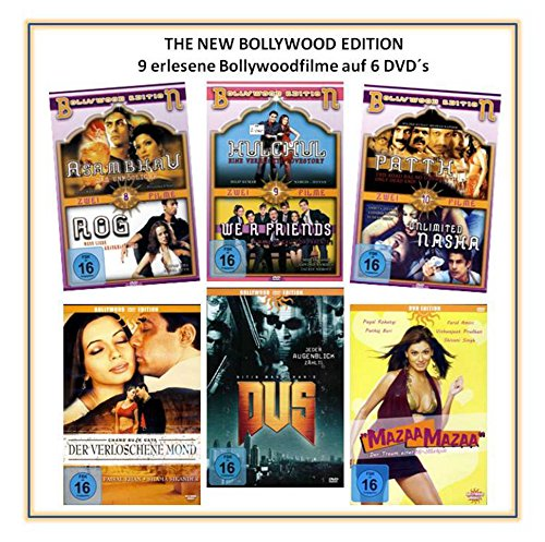The New Bollywood Edition ( 6 DVDs mit 9 Filmen )