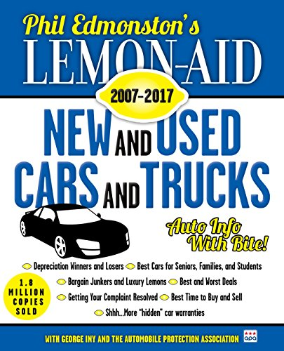 178a031f6eb Lemon-Aid New and Used Cars and Trucks 2007–2017 (Lemon Aid New