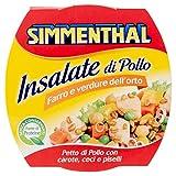 Simmenthal Piatto Pronto di Vegetali e Pollo con Olio Extra Vergine di Oliva - 160 gr