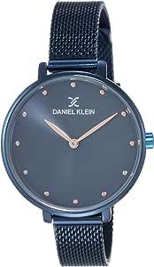 Daniel Klein Analog Blue Dial Women's Watch - DK11421-7