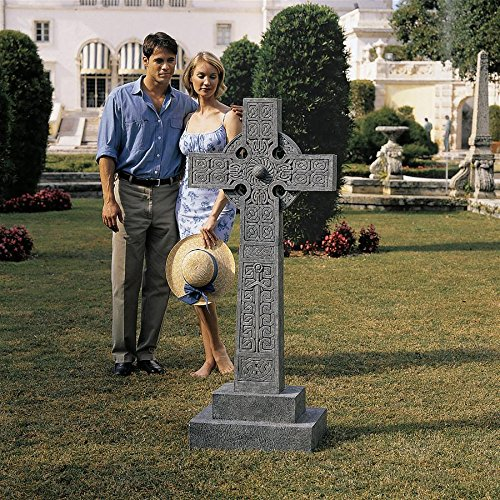 Design Toscano Chisholm Highland keltisches Kreuz, Statue in Originalgröße