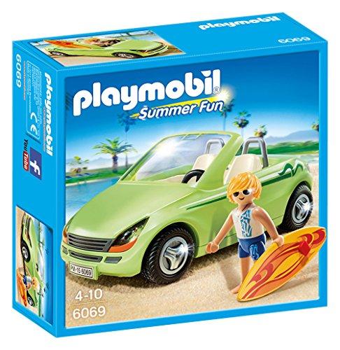 Playmobil - 6069 - Surfeur et voiture dcapotable