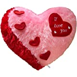 PICKKART Love Cushion Pillow Heart Shape Gifts for Boyfriend/ Girlfriend/ Couple/ Husband/ Love One/ Hubby - Quality Gifts So