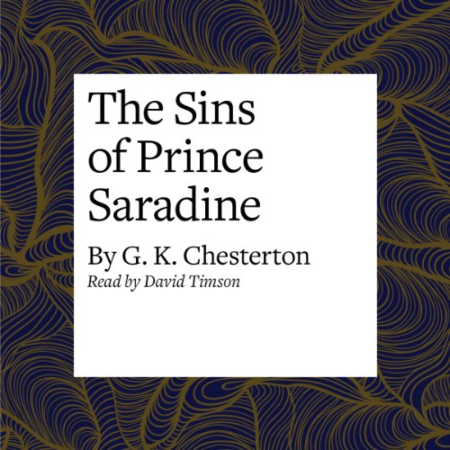 The Sins of Prince Saradine  Audiolibri