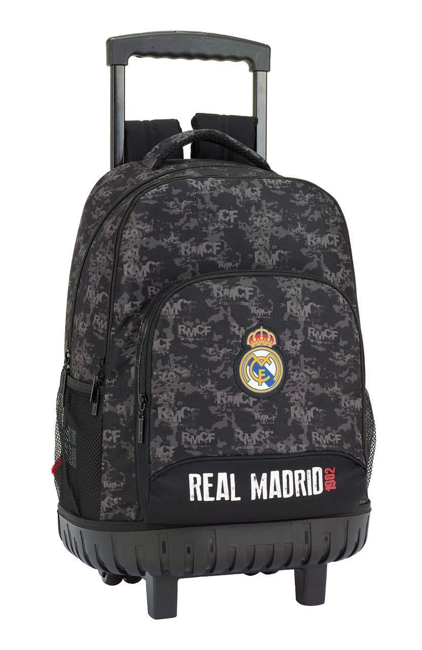 Real Ruedas Con CmNegroMochilas Cf Carro Online FijoTrolley45 Madrid Grande Escolares Mochila 4AjL5R