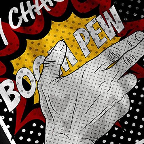 Charisme Des bandes dessinées Mode Femme S-2XL Sweat à capuche le dos | Wellcoda Noir