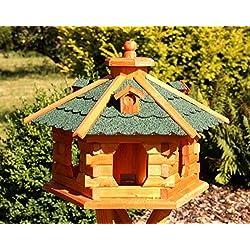 Grande Casa del pájaro de madera tipo 5 - Green