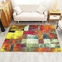 Abstrakte Malerei Teppich Wohnzimmer Fußtuch Tee Tisch Bodenmatte Rechteck Teppiche  Bunte ( Größe ...