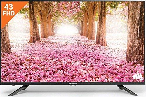 Micromax 108 cm (43 inches) Full HD LED TV 43A9181FHD/43Z7550FHD/43Z9550FHD/ 43GR550FHD/43V8550FHD (Black)...