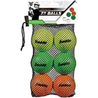 Franklin Sports Youth White Green & Red Mini Game Practice Lacrosse Balls 6-Pack preisvergleich bei billige-tabletten.eu