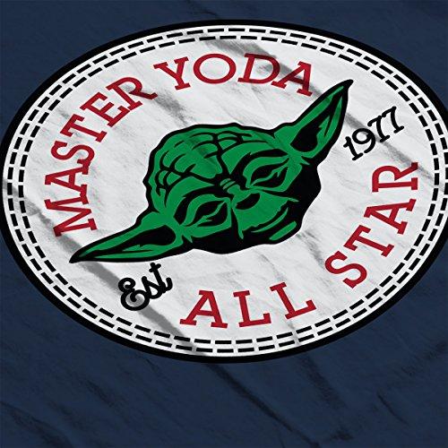 Master Yoda Star Wars All Star Converse Logo Women's Vest Navy blue