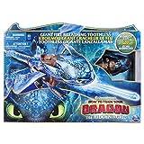 Dragons - Movie Line - 6045436 - Fire Breathing Toothless (Ohnezahn) - Actionfigur mit Drachnatem, Drachenzähmen leicht gemacht 3, Die geheime Welt