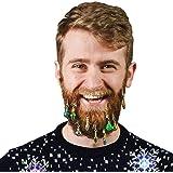 Weihnachtskugeln Scherzartikel für den Bart im 9er Set - Christbaumschmuck Spaßartikel Gadget Weihnachtsbaumschmuck