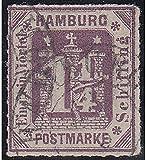 Goldhahn Hamburg Nr. 20 a gestempelt und Geprüft Briefmarken für Sammler