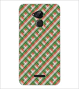 PrintDhaba Pattern D-5251 Back Case Cover for COOLPAD NOTE 3 LITE (Multi-Coloured)