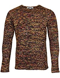 Poolman Long Sleeve Knitted Jumper Sweater Pullover P1604329Gold Melange HW16