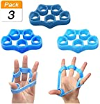 Finger Stretching Exerciser Finger Grip Finger Stretcher Hand Resistance Belt Intensive Trainer Grip Set Arthritis Carpal...