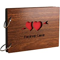 Sehaz Artworks ForeverLove Scrapbook Photo Albums for 4x6 Photos for Baby Birthdays, Couples Husband Wife (26 cm X 16 cm…
