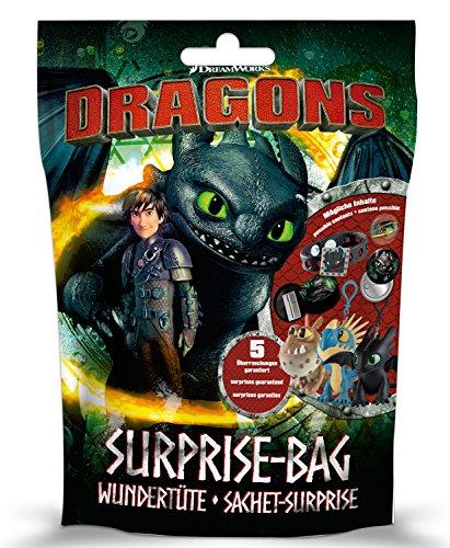Preisvergleich Produktbild Craze 57262 - Wundertüte Surprise Bag Dreamworks Dragons, Sortiert