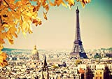Poster Parigi Tour EIFFEL City City Autunno
