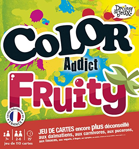 Droles de Jeux - 410404 - Color Addict Fruity