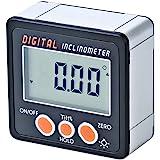 KKmoon Digitale inclinometer 0-360° elektronische protractor【Aluminium legering Shell Digitale Bevel Box Hoek Gauge Meter Mag