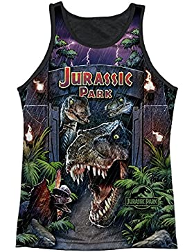 Jurassic Park - Camiseta - Camiseta gráfica - Manga corta - opaco - para hombre