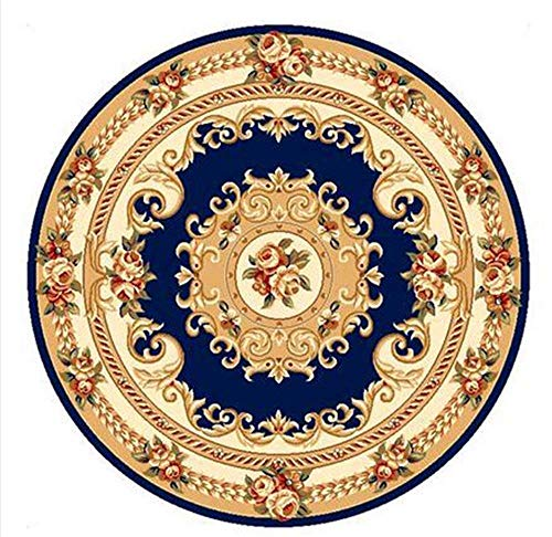 Carpet vuoto lavabile tappeto durevole nordic tappeto rotondo soggiorno hotel lobby camera tappeto tappetino casa quotidiano,diametro-150cm,# 2
