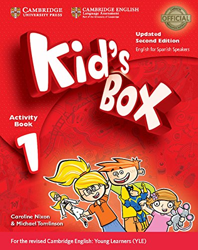 Kid's Box Level 1 Activity Book with CDROM Updated English for Spanish Speakers Second Edition