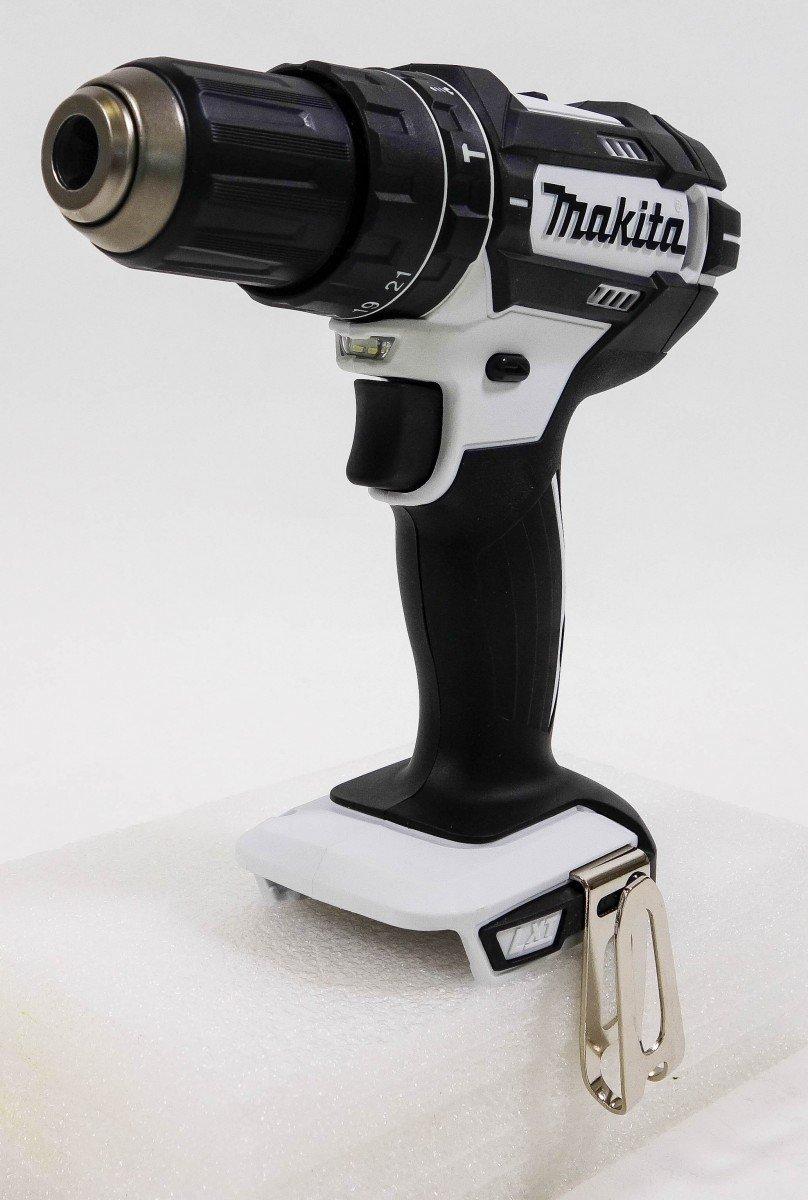 Makita DHP482ZW Akku-Schlagbohrschrauber 18 V Solo, Limited White