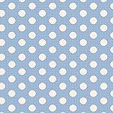 Tilda Medium Dots blau Fat Quarter