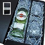 Martini Bianco 14,4% 0,75l mit 2 Gläsern in Geschenkkarton von'meinglas24'