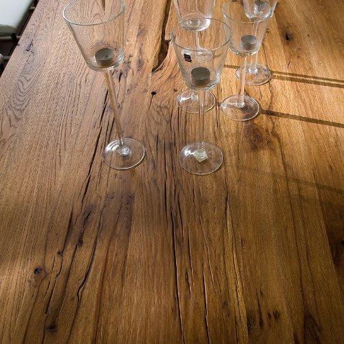 Exkl.180cm Esszimmertisch Eiche massiv bassano Esstisch Esszimmer Tisch
